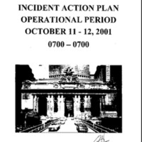 Incident Action Plan: 10/11/01 - 10/12/01