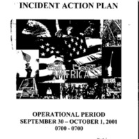 Incident Action Plan: 9/30/01 - 10/1/01