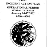 Incident Action Plan: 1/14/02 - 1/17/02