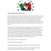 About Asociación Tepeyac