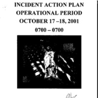 Incident Action Plan: 10/17/01 - 10/18/01