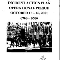 Incident Action Plan: 10/15/01 - 10/16/01
