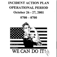 Incident Action Plan: 10/26/01 - 10/27/01