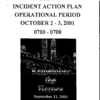 Incident Action Plan: 10/2/01 - 10/3/01