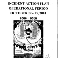 Incident Action Plan: 10/12/01 - 10/13/01